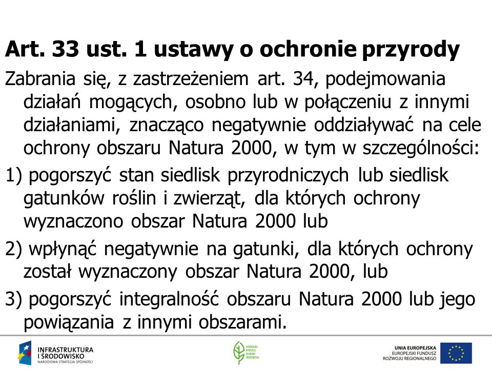 Art. 33 ust. 1 ustawy o ochronie przyrody