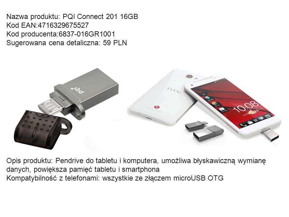 Nazwa produktu: PQI Connect 201 16GB