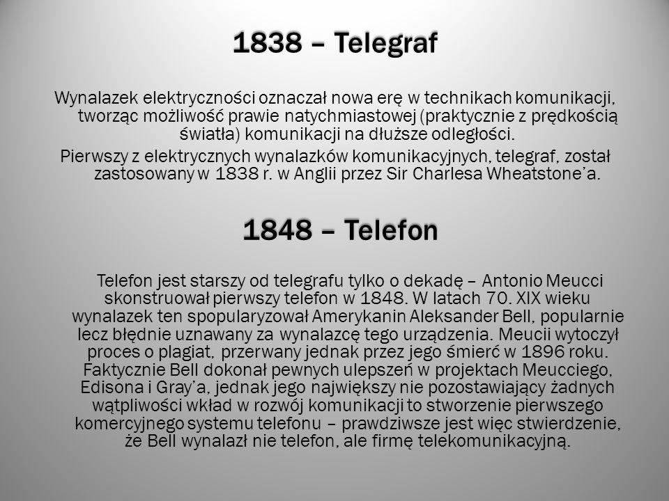 1838 – Telegraf