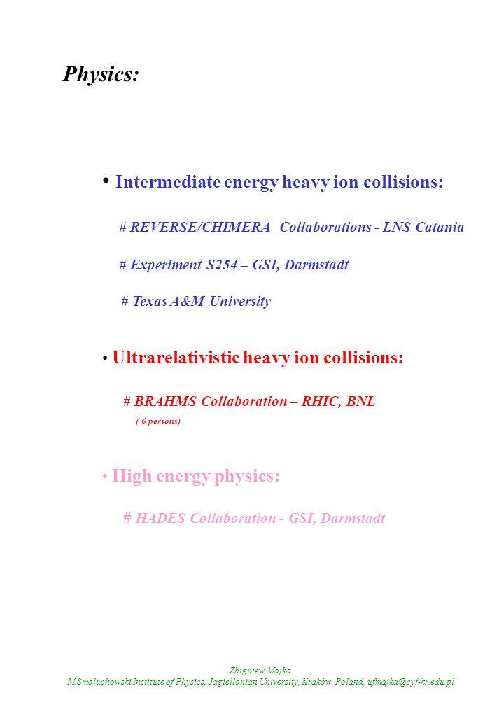 Intermediate energy heavy ion collisions: