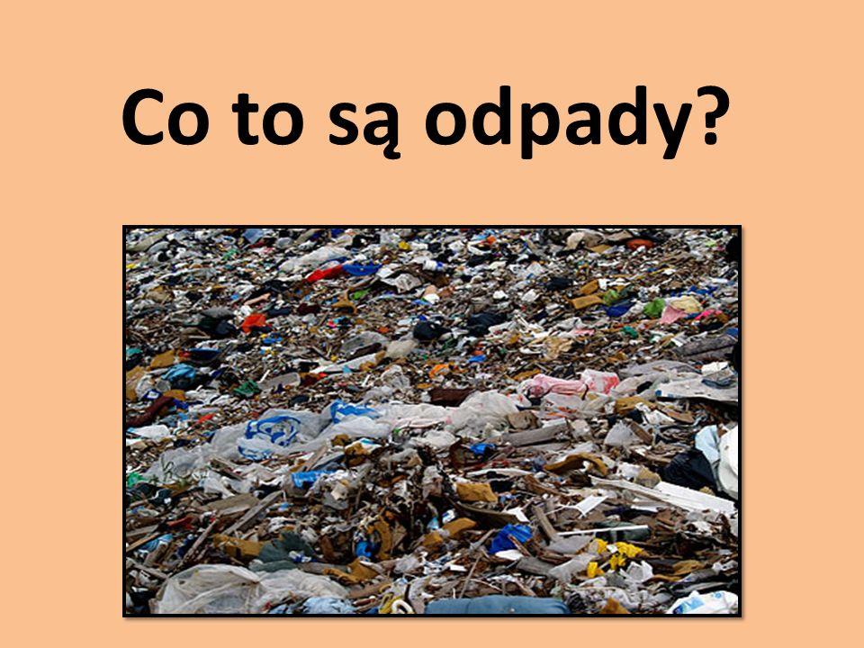 Co to są odpady