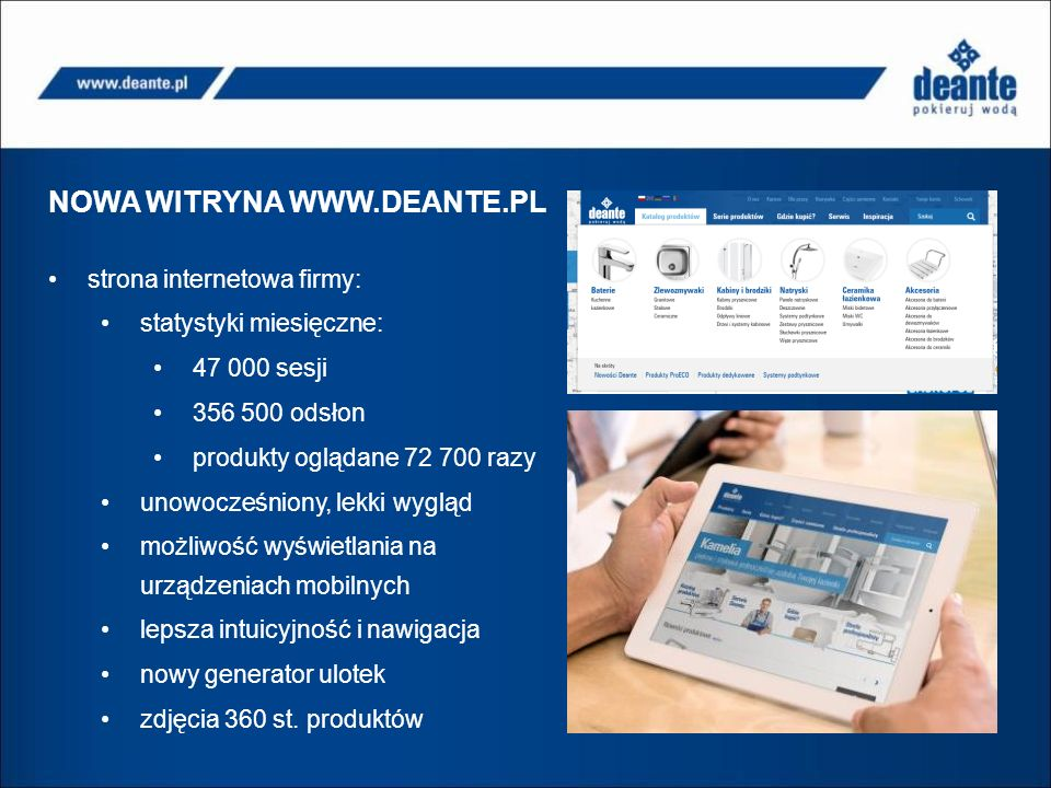 NOWA WITRYNA WWW.DEANTE.PL