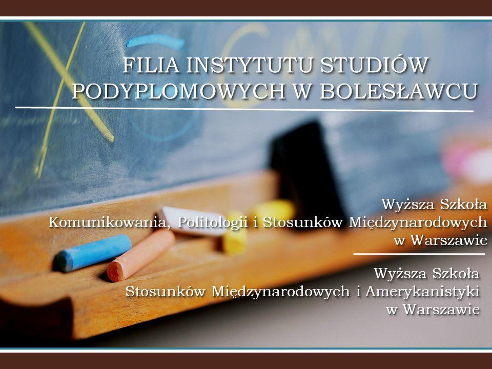 FILIA INSTYTUTU STUDIÓW PODYPLOMOWYCH W BOLESŁAWCU