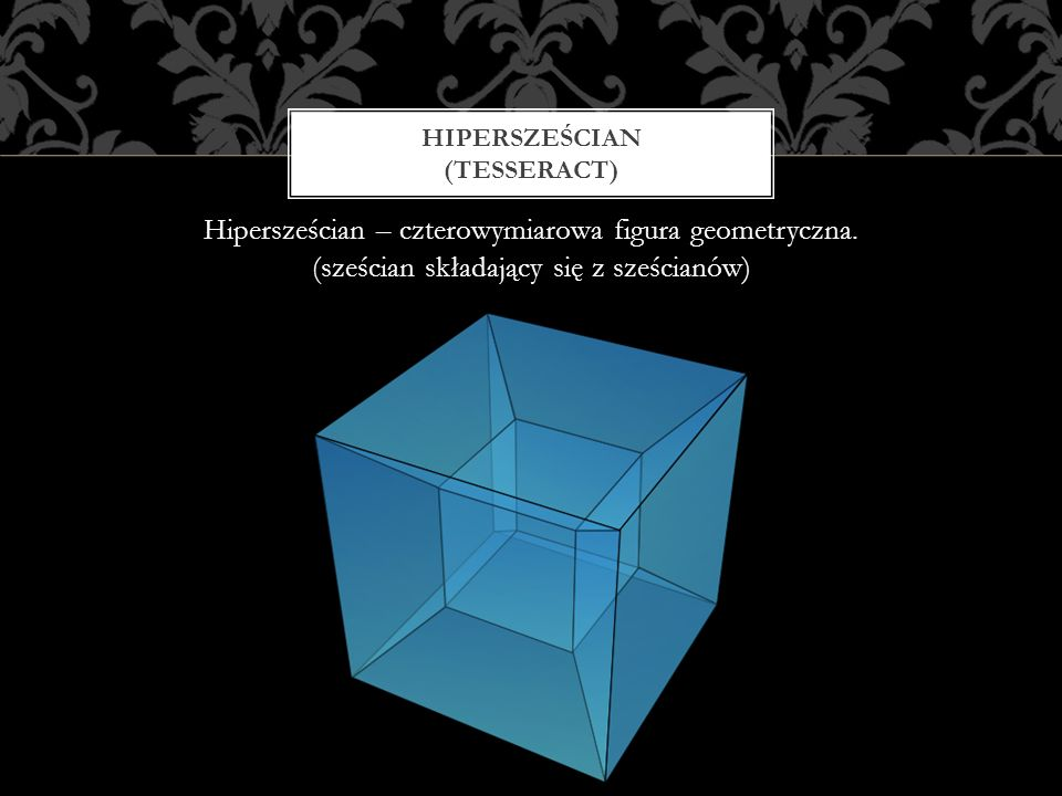 Hipersześcian (tesseract)