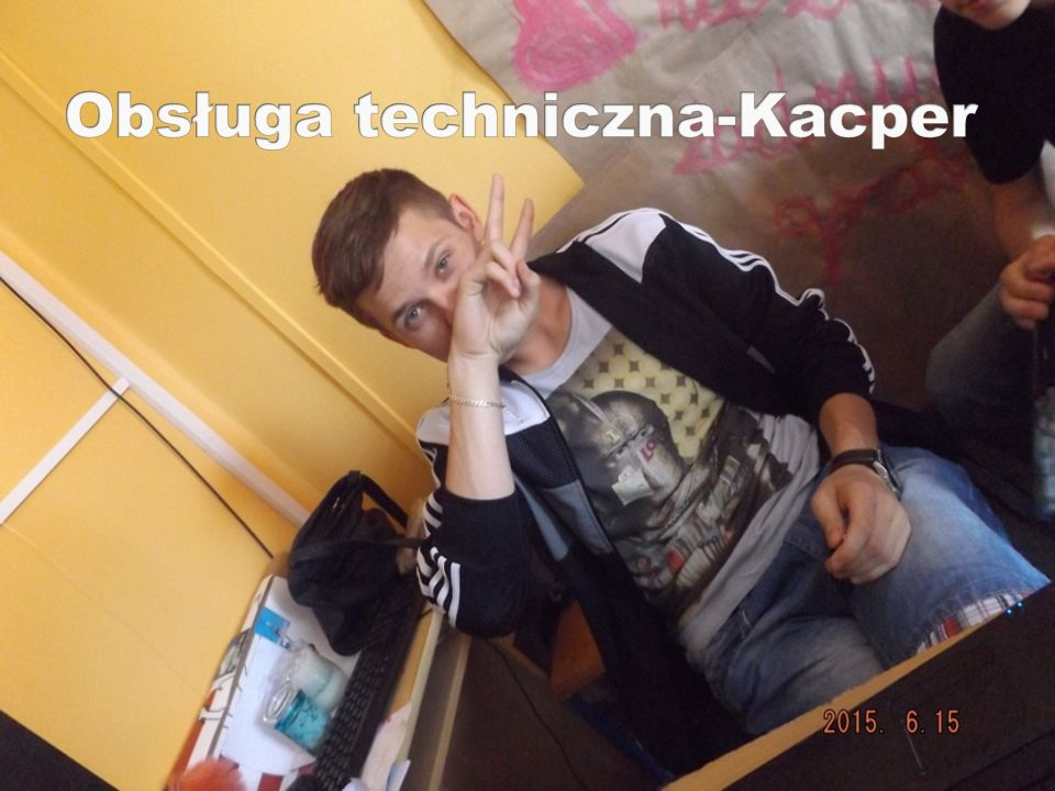 Obsługa techniczna-Kacper