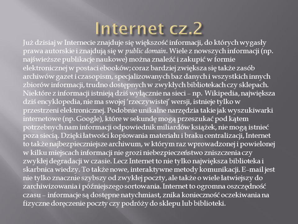 Internet cz.2