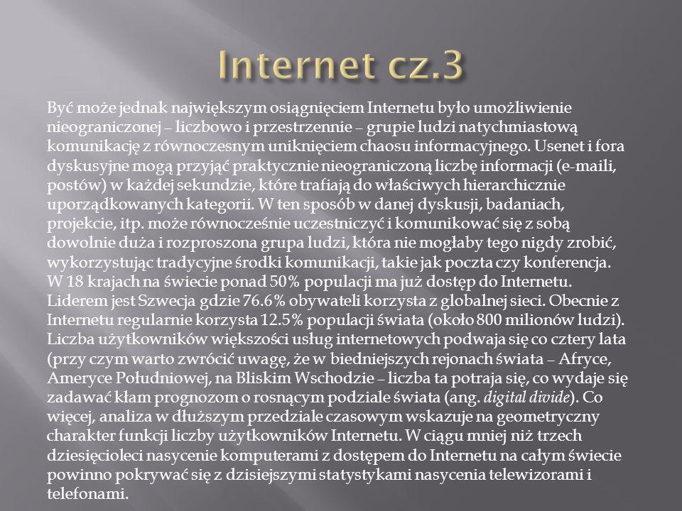 Internet cz.3