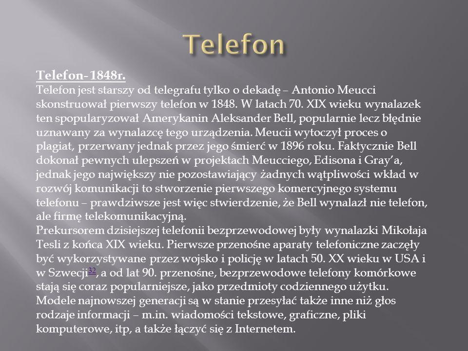Telefon Telefon- 1848r.