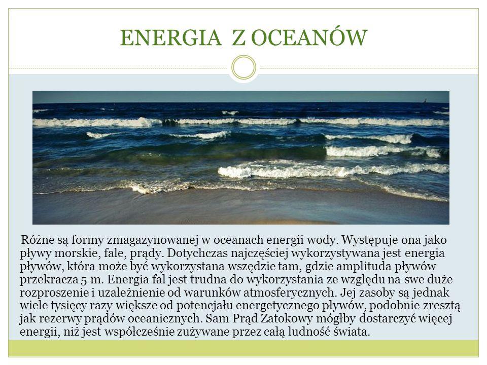 ENERGIA Z OCEANÓW