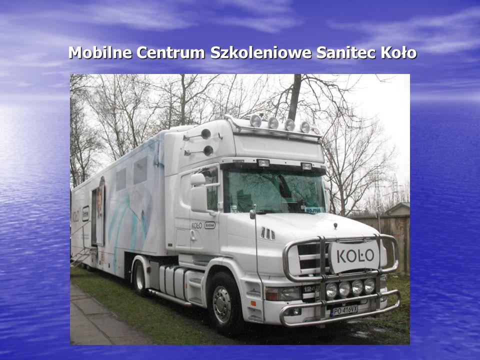 Mobilne Centrum Szkoleniowe Sanitec Koło