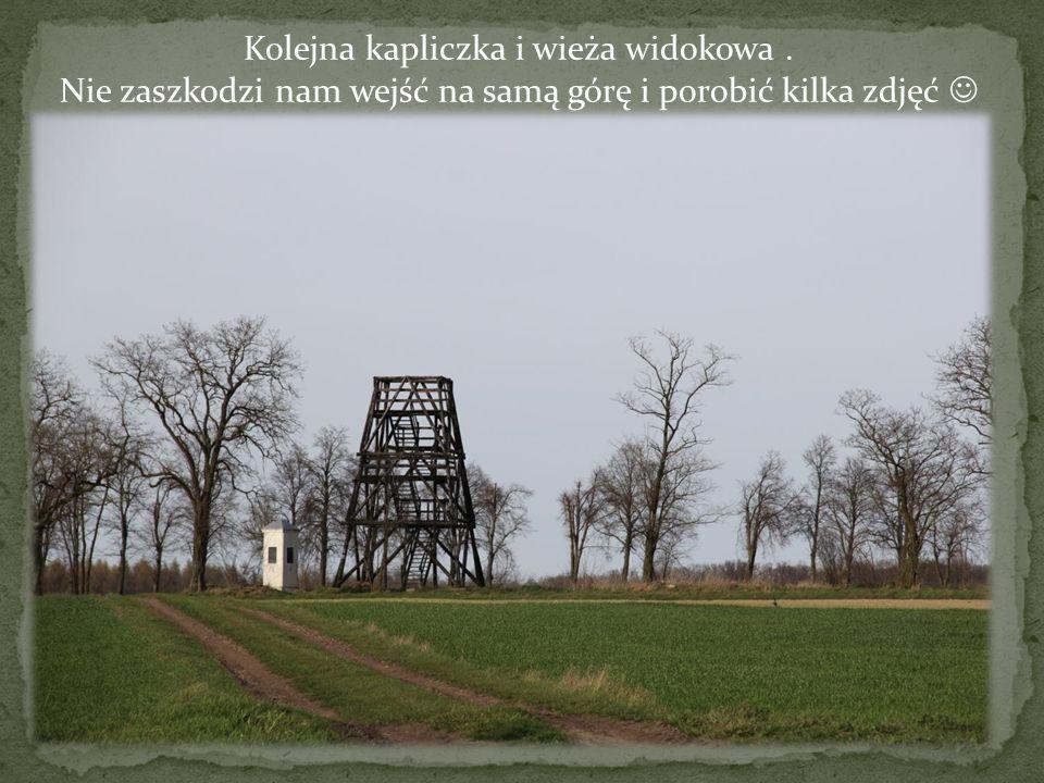 Kolejna kapliczka i wieża widokowa .