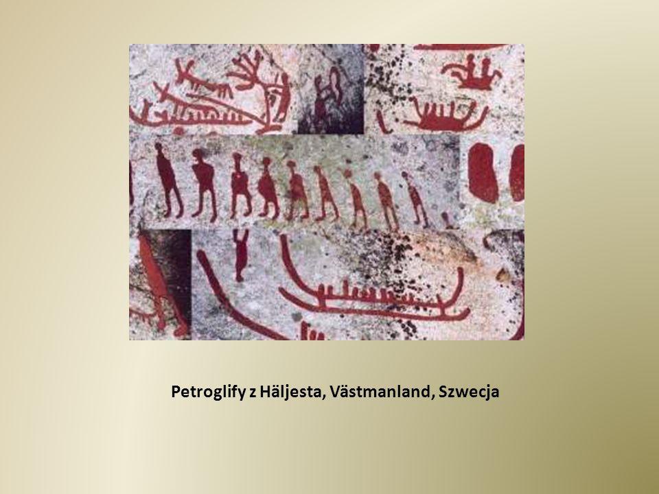 Petroglify z Häljesta, Västmanland, Szwecja