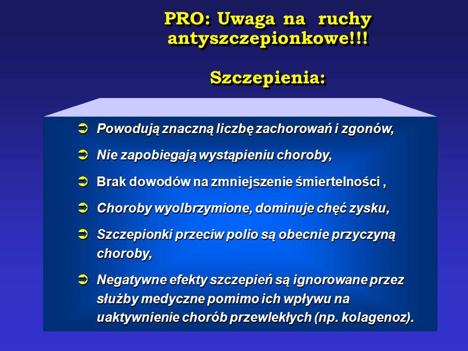PRO: Uwaga na ruchy antyszczepionkowe!!!