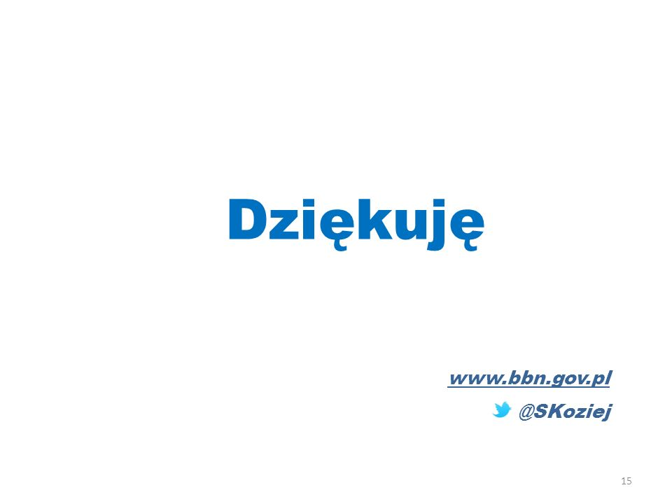 Dziękuję www.bbn.gov.pl @SKoziej