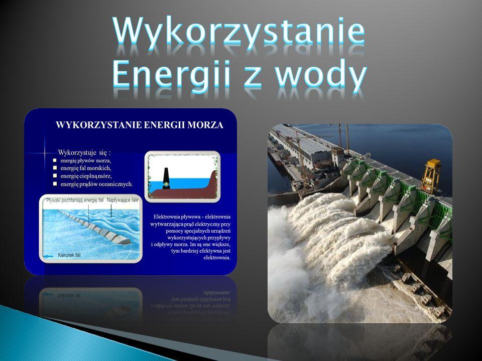 Wykorzystanie Energii z wody