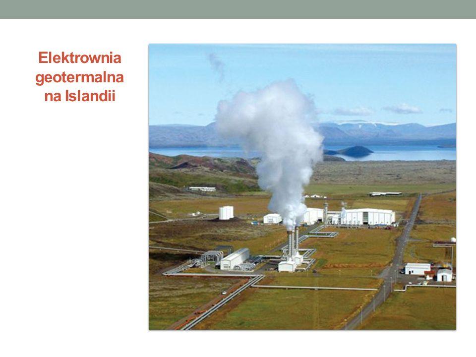 Elektrownia geotermalna na Islandii