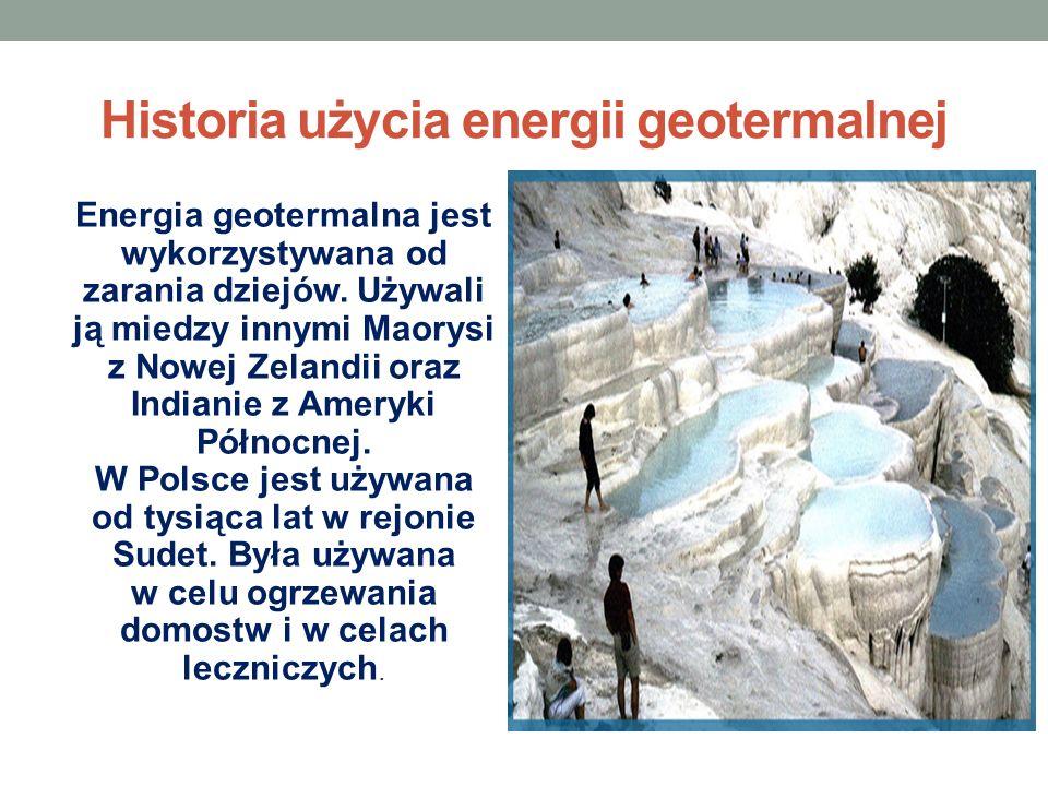 Historia użycia energii geotermalnej