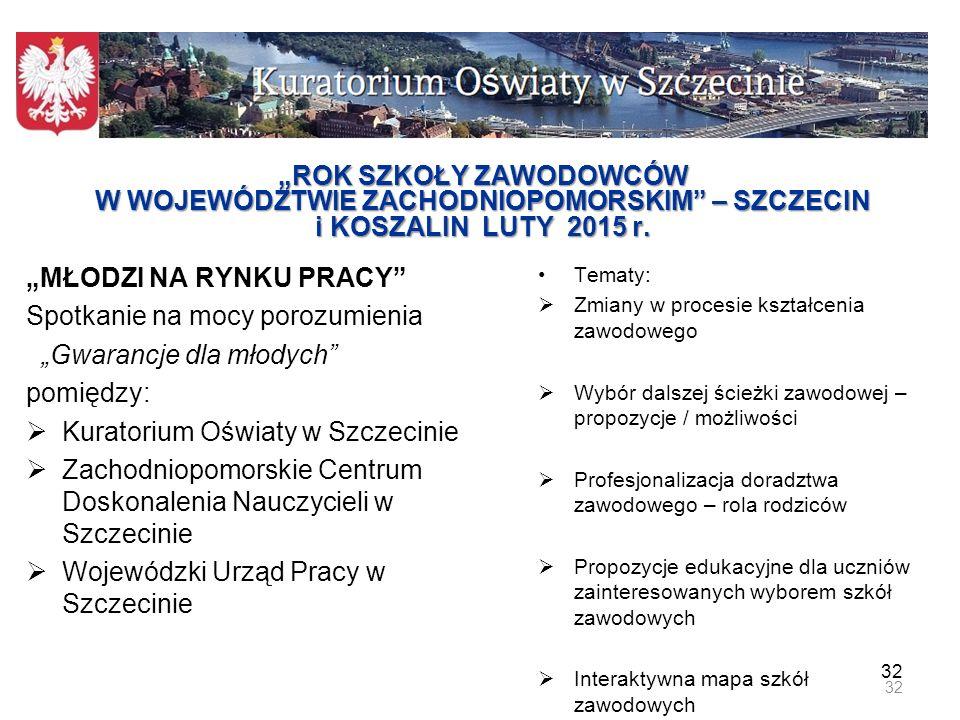 """""""MŁODZI NA RYNKU PRACY Spotkanie na mocy porozumienia"""