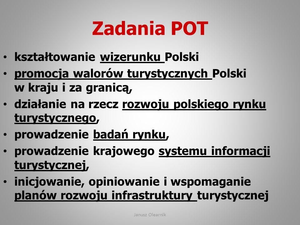 Zadania POT kształtowanie wizerunku Polski