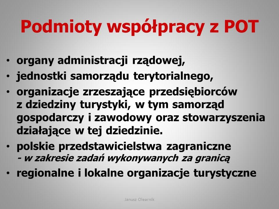 Podmioty współpracy z POT
