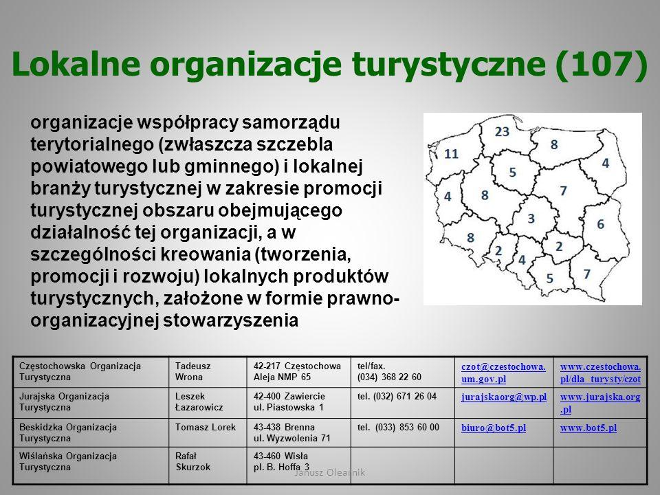 Lokalne organizacje turystyczne (107)