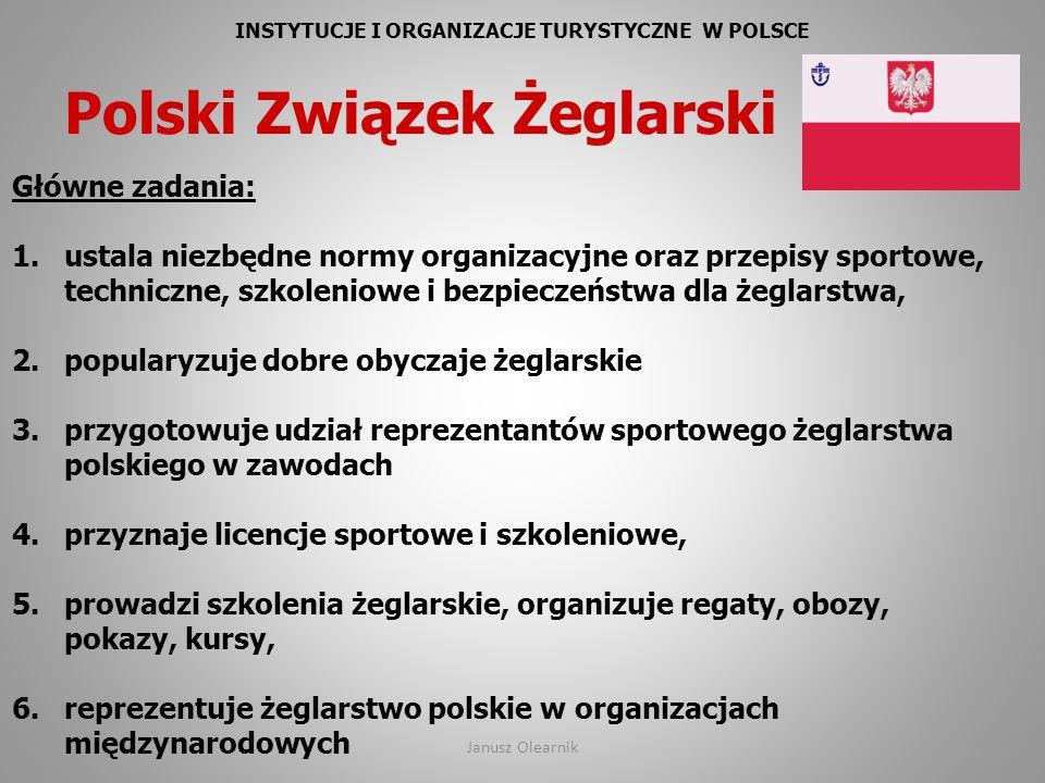 INSTYTUCJE I ORGANIZACJE TURYSTYCZNE W POLSCE