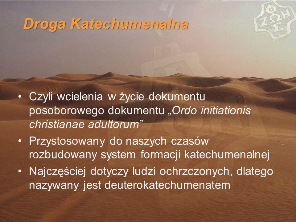 """Droga Katechumenalna Czyli wcielenia w życie dokumentu posoborowego dokumentu """"Ordo initiationis christianae adultorum"""