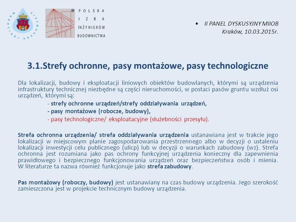 II PANEL DYSKUSYJNY MIIOB Kraków, 10.03.2015r.