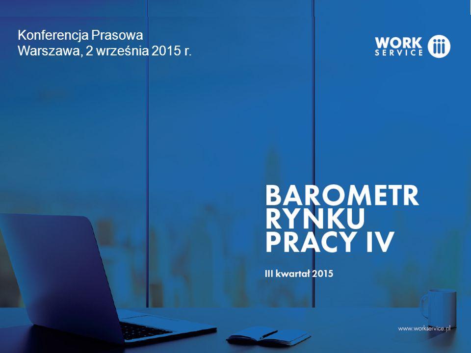 Konferencja Prasowa Warszawa, 2 września 2015 r.