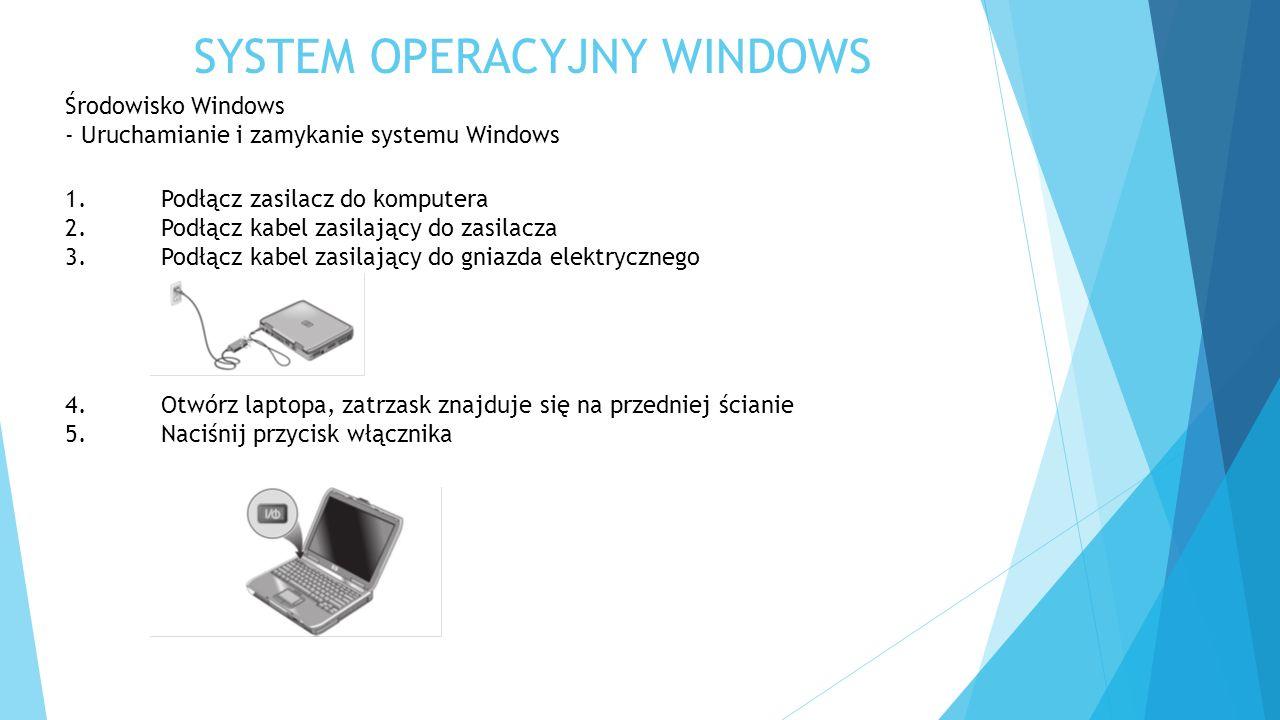 SYSTEM OPERACYJNY WINDOWS