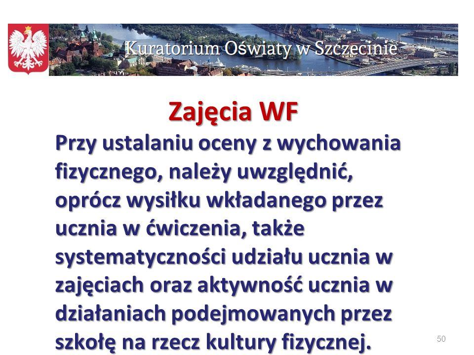 Zajęcia WF