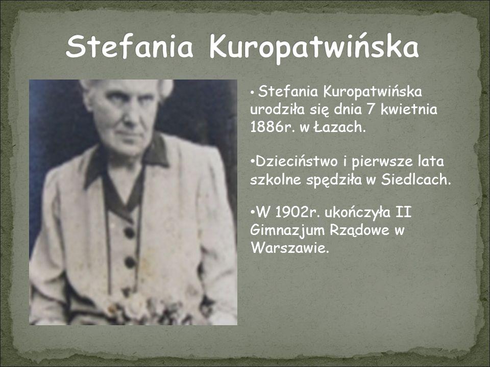 Stefania Kuropatwińska