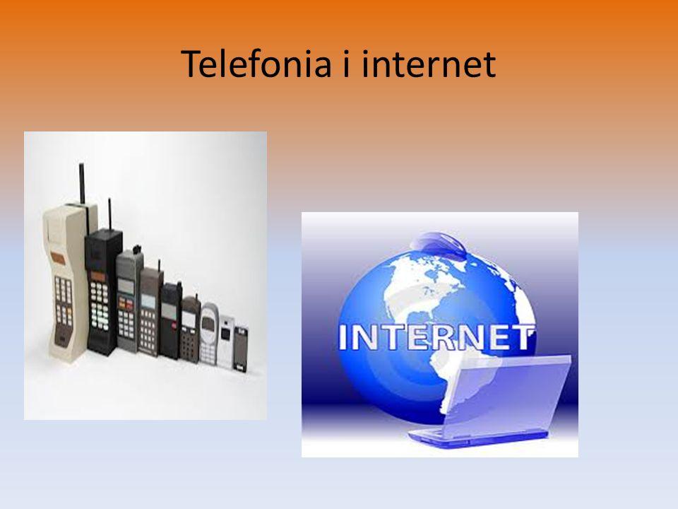 Telefonia i internet