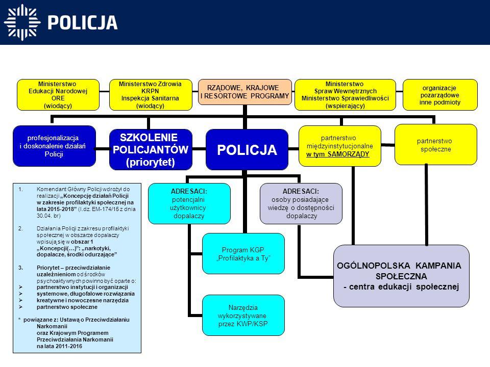 Struktura działania w obszarze tzw. dopalaczy na lata 2015-2018