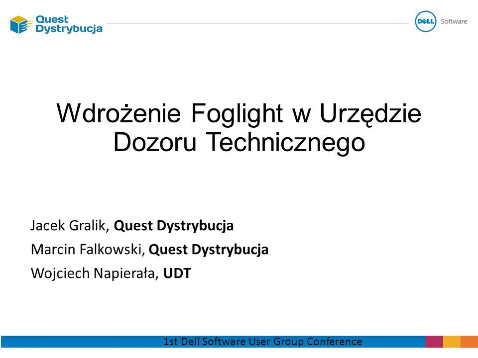 Wdrożenie Foglight w Urzędzie Dozoru Technicznego