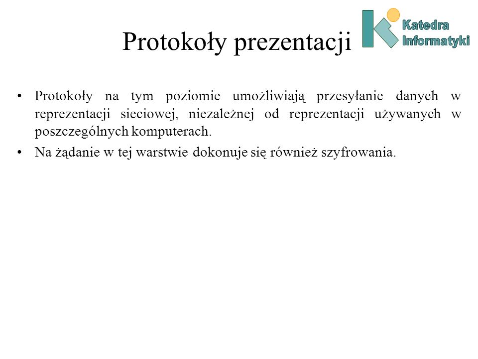 Protokoły prezentacji