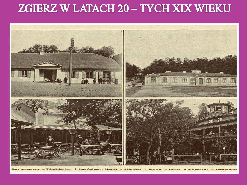 ZGIERZ W LATACH 20 – TYCH XIX WIEKU