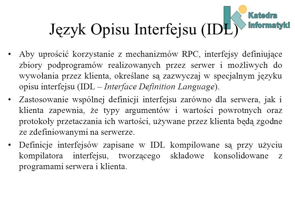 Język Opisu Interfejsu (IDL)