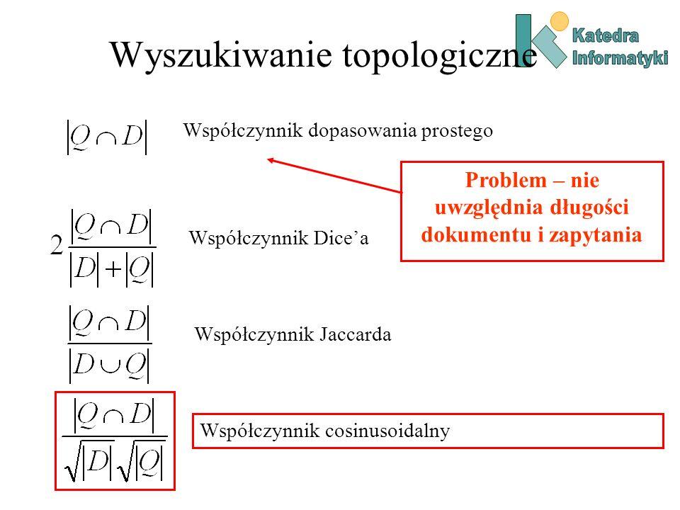 Wyszukiwanie topologiczne