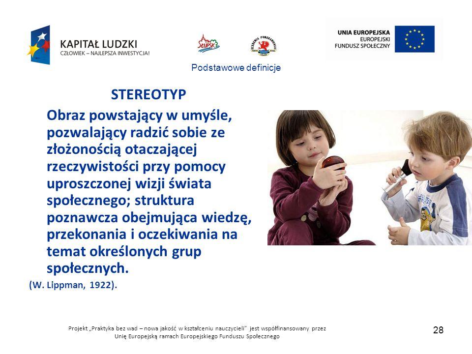 Podstawowe definicje STEREOTYP.