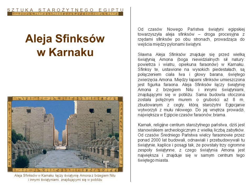 Aleja Sfinksów w Karnaku