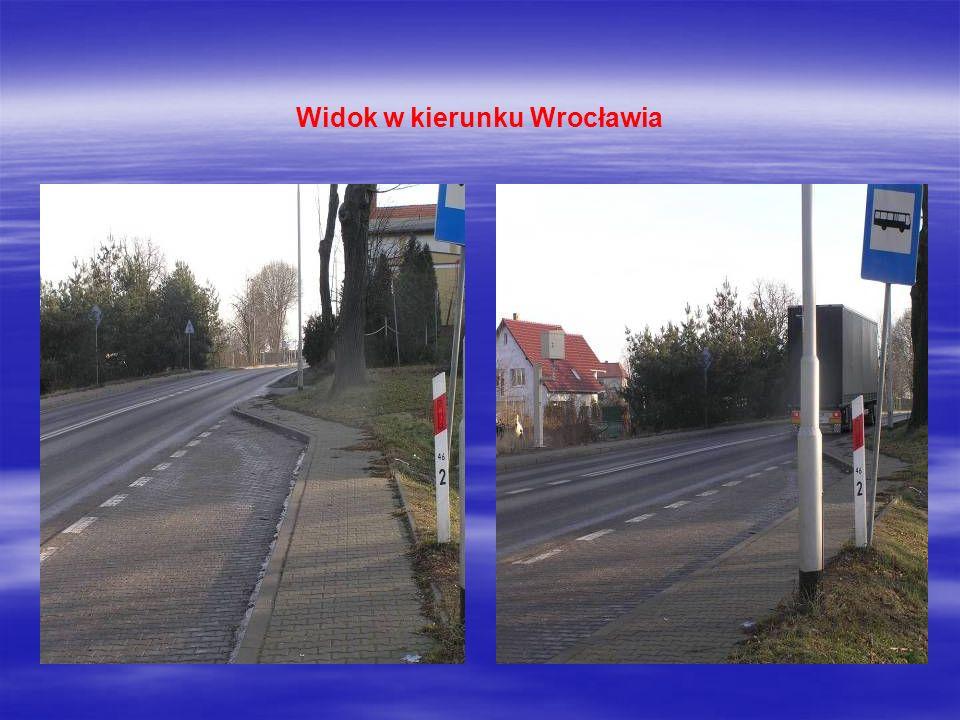 Widok w kierunku Wrocławia