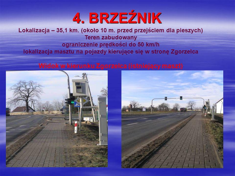 Widok w kierunku Zgorzelca (istniejący maszt)