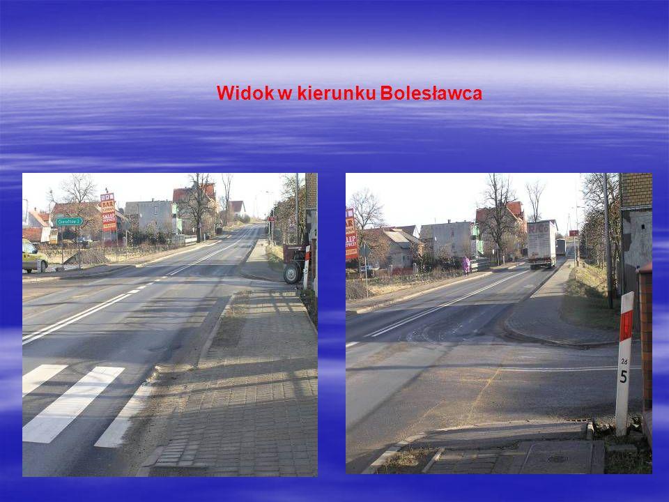 Widok w kierunku Bolesławca