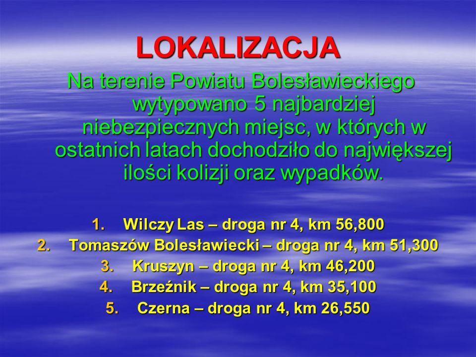 Tomaszów Bolesławiecki – droga nr 4, km 51,300
