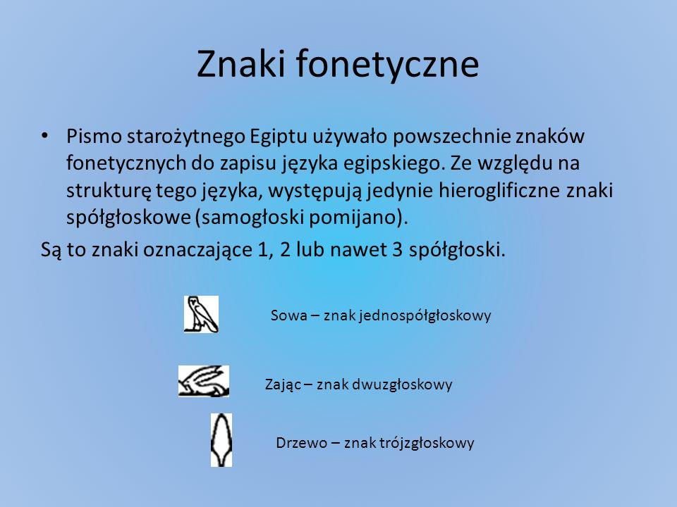 Znaki fonetyczne