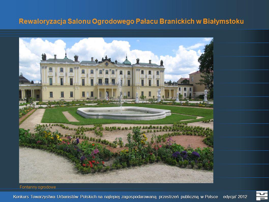Rewaloryzacja Salonu Ogrodowego Pałacu Branickich w Białymstoku