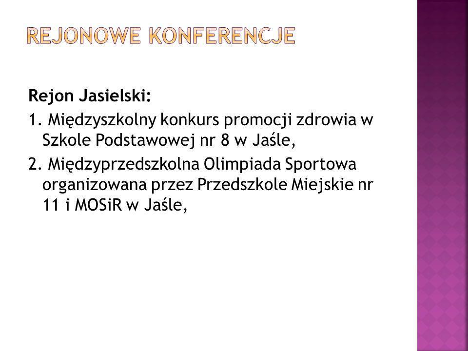 rejonowe konferencje Rejon Jasielski: