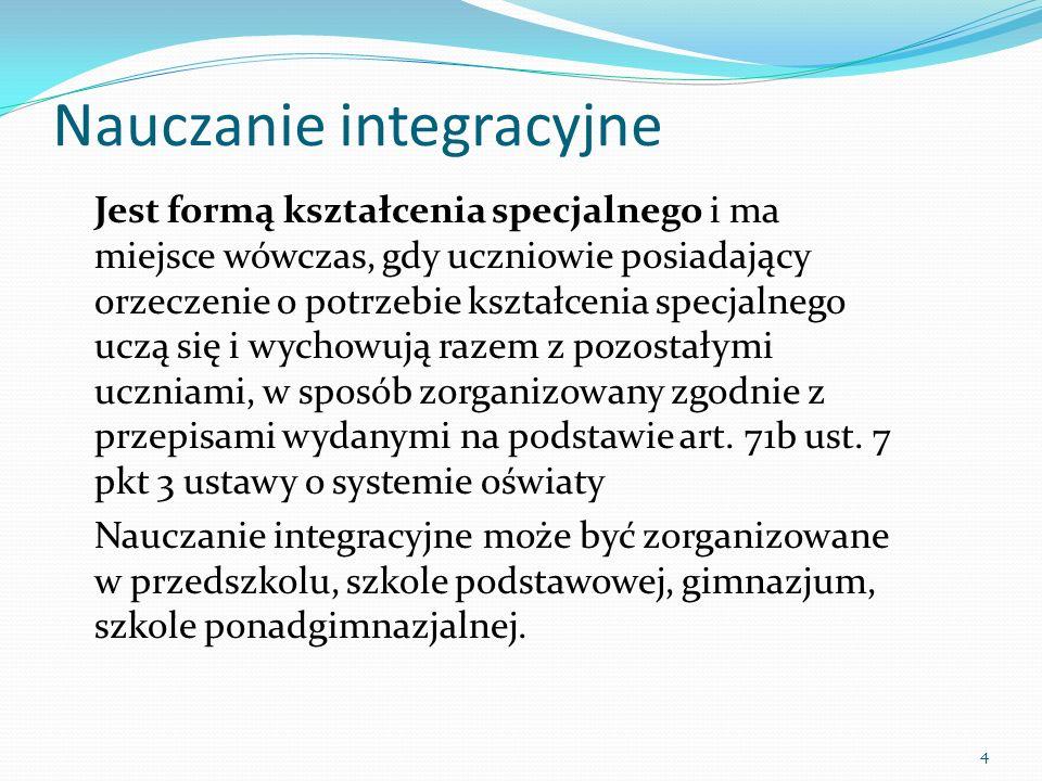 Nauczanie integracyjne