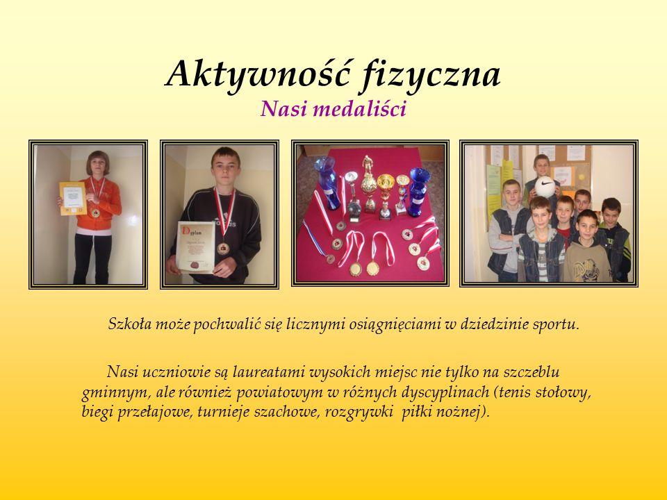 Aktywność fizyczna Nasi medaliści